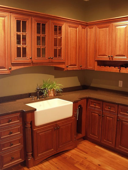 Kitchen Cabinets - Stock, Custom, and Carpenter-Built Cabinets