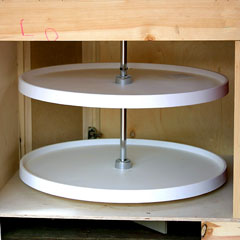 base cabinet lazy susan
